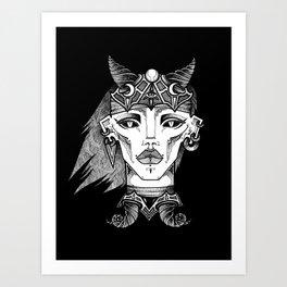 Oblina Art Print