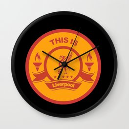 This Is Liverpool Wall Clock