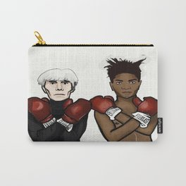 Warhol Basquiat Carry-All Pouch