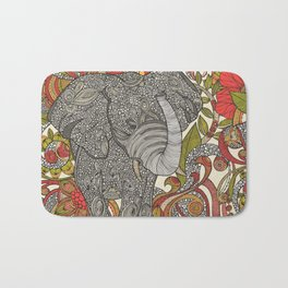 Bo the elephant Bath Mat
