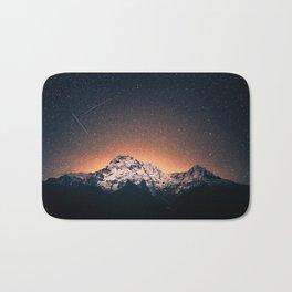 Magical Mountain #galaxy #photography Bath Mat