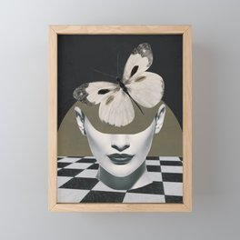 BUTTERFLY Framed Mini Art Print