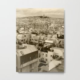Rooftops of Paris 3 Metal Print