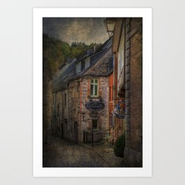 Old European village Art Print