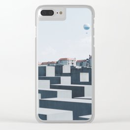 Memorial to the Murdered Jews of Europe Clear iPhone Case
