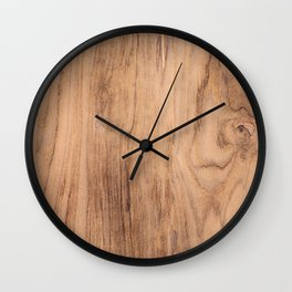 Wood Grain #575 Wall Clock
