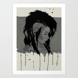 Punk is Dead Art Print