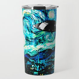Starry Night UFO Travel Mug