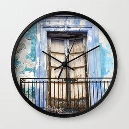 Facade - Taormina - Sicily Wall Clock