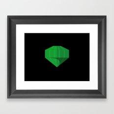Gem of Mystery Framed Art Print