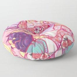 Solitary Moon Floor Pillow