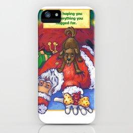 Christmas Wish iPhone Case