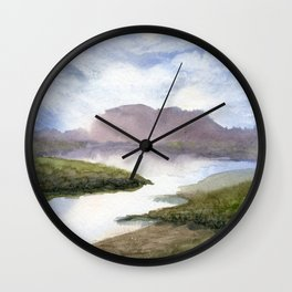Water and Colour Wall Clock