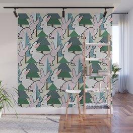 Bunnies and Trees 2 (Cute Buns) Wall Mural