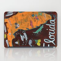 florida iPad Cases featuring FLORIDA by Christiane Engel
