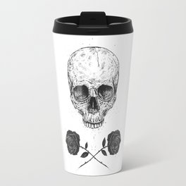 Skull N' Roses Travel Mug