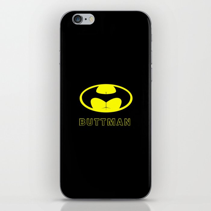 BUTTMAN iPhone Skin