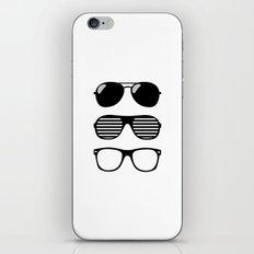 set of sunglasses iPhone & iPod Skin