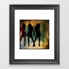 four Framed Art Print