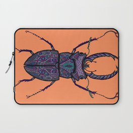 Psychedelic Stag Beetle  Laptop Sleeve
