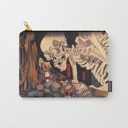 Takiyasha the Witch and the Skeleton Spectre, by Utagawa Kuniyoshi Carry-All Pouch