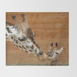 Giraffe 002 Throw Blanket