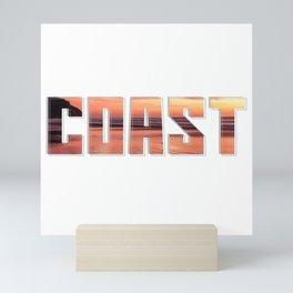 Coast Mini Art Print