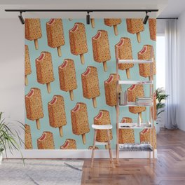 Popsicle Pattern- Strawberry Shortcake Wall Mural