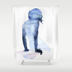 small piece 26 Shower Curtain