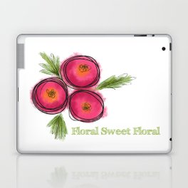 Floral Sweet Floral Laptop & iPad Skin