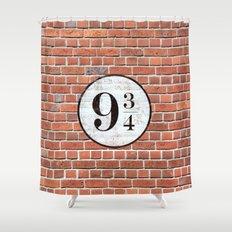 Platform Nine and Three-Quarters Shower Curtain