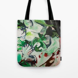 Looking like a Snack (Abstract Painting) Tote Bag