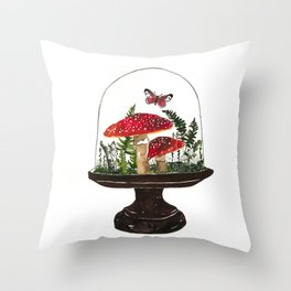 Vivarium No.1  Print  Throw Pillow