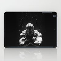 bane iPad Cases featuring Bane by Sam Rowe Illustration