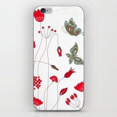 Tatemae Japanese White iPhone & iPod Skin
