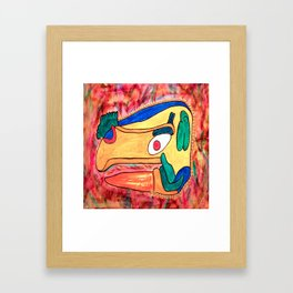 MAYAN TOUCAN Framed Art Print