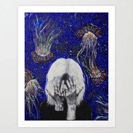Junk Mind Art Print