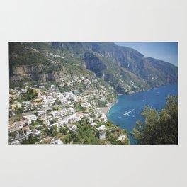 Photo seascape Amalfi Coast Italy Rug