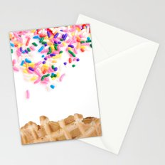 Ice Cream & Sprinkles Stationery Cards