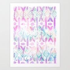 Amelie {Pattern 6A} Art Print