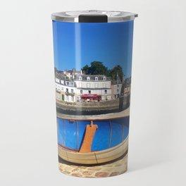 bateau bleu Travel Mug