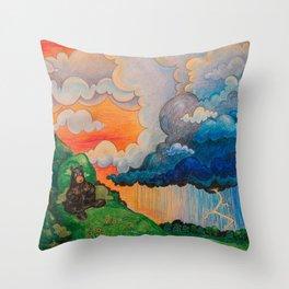 Thunder Bears Throw Pillow