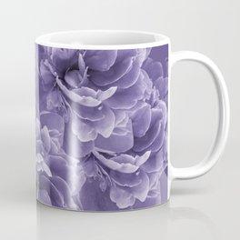 Ultra Violet Peony Flower Bouquet #1 #floral #decor #art #society6 Coffee Mug