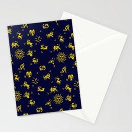 Zodiac Menagerie Stationery Cards