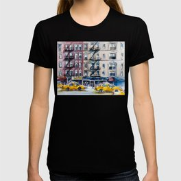New York, wtercolor sketch T-shirt