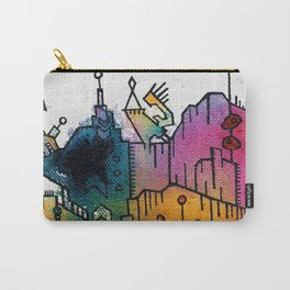 Subliminal City Carry-All Pouch