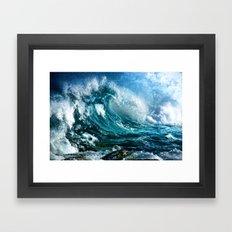 Waves MIX Framed Art Print