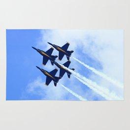 Blue Angels #s 1 2 3 4 Rug