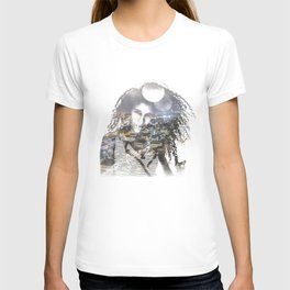 double exposure PV - C T-shirt