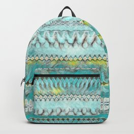Candle Arches: Chalk/Foam/Teal/Yellow Backpack
